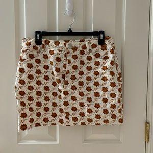 Forever 21 mini jean skirt